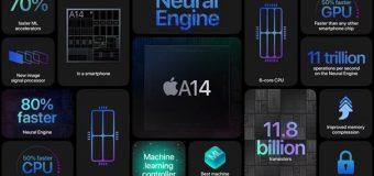 Yeni iPhone 12'nin Yonga Seti A14 Bionic