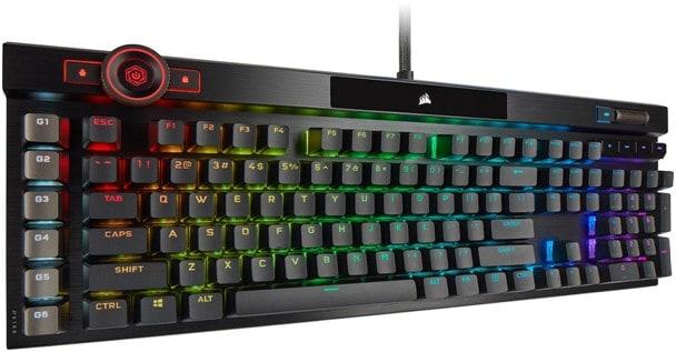 Corsair K100 klavye düşük tepki süresi