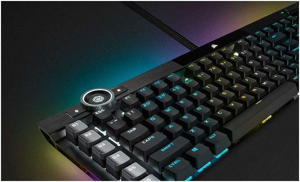 Corsair K100 klavye macro kontrol tuşları