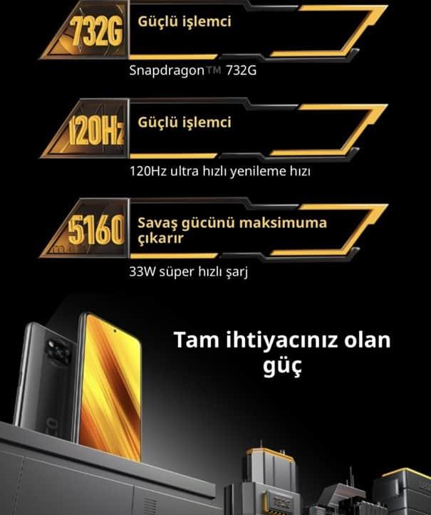 POCO X3 NFC özellikleri