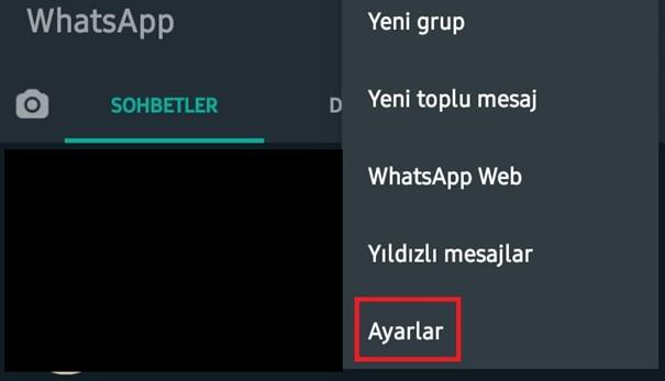 ayar whatsapp