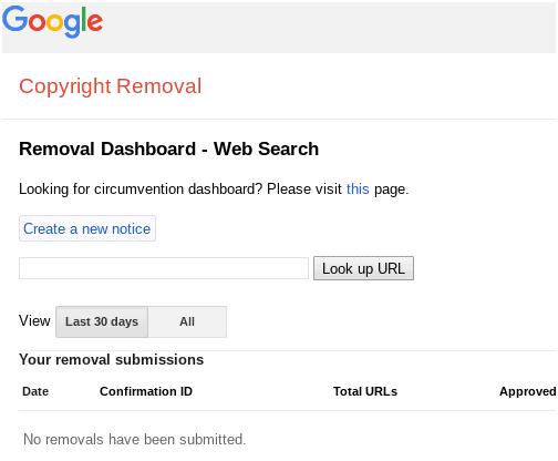 copy removal