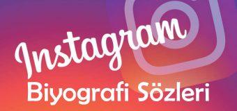 Instagram Biyografi Sözleri – Kısa, Havalı, İngilizce, Türkçe