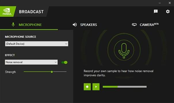 NVIDIA Broadcast uygulaması nedir