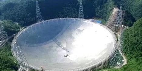 dünyanın en büyük teleskopu
