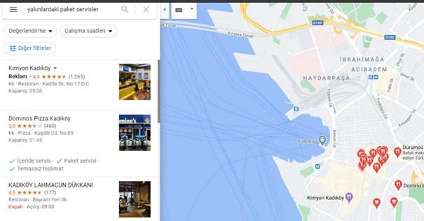 google paket servis