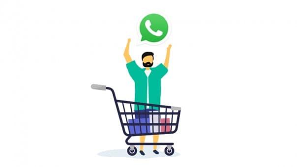whatsapp alışveriş butonu