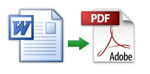 word pdf dönüştürme