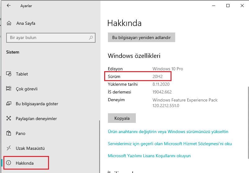 Windows hakkında