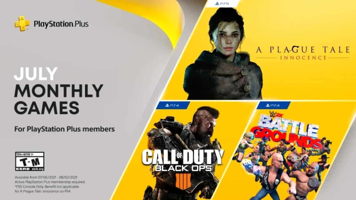 PlayStation Plus Temmuz