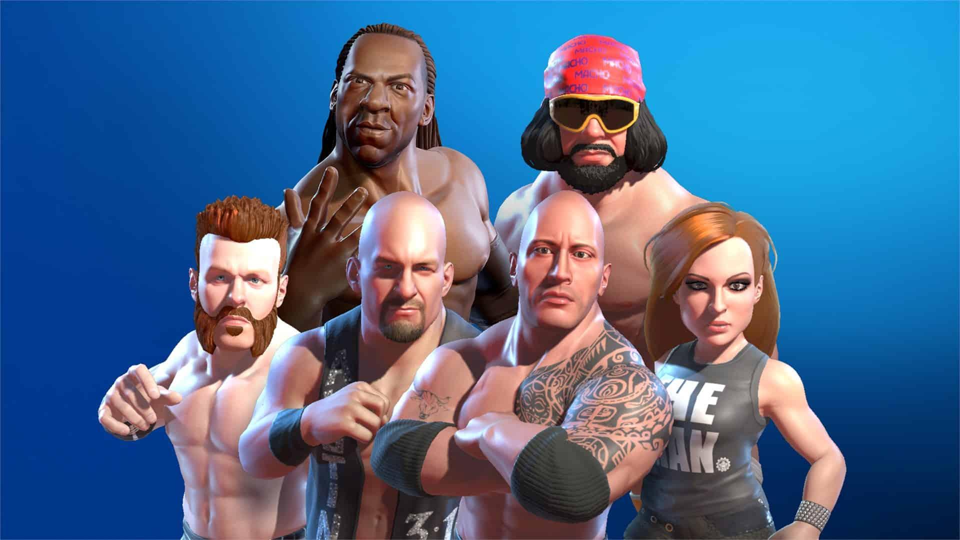 WWE 2K Battlegrounds İ