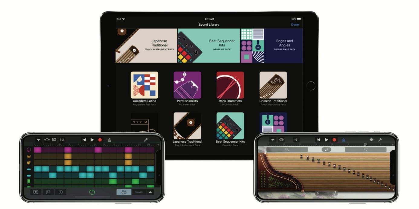 iPhone GarageBand Uygulaması