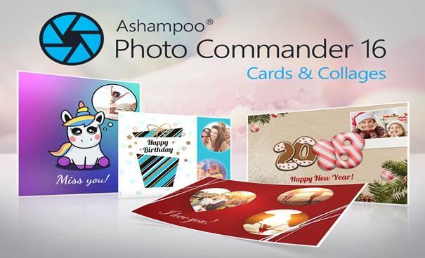 Ashampoo Photo Commander 16 Özellikleri