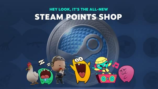 Steam puan dükkânı nedir
